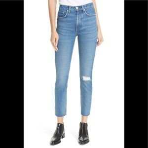 Rag and bone pamela high rise ankle skinny 24
